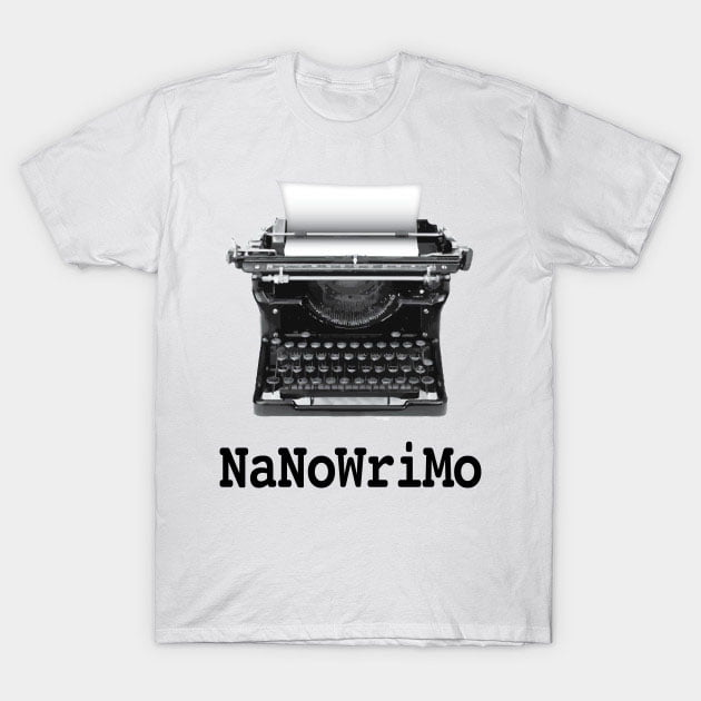 National Novel Writing Month tee