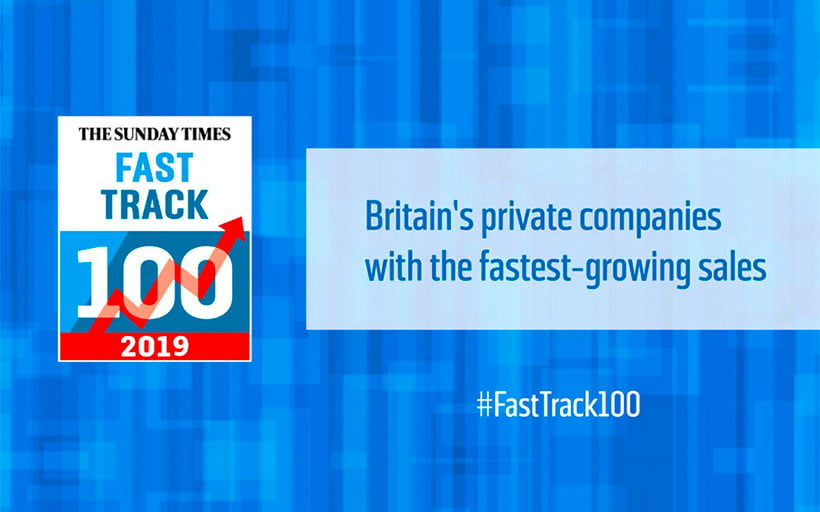 Prodigi ranked 14th on The Sunday Times Virgin Atlantic Fast Track 100