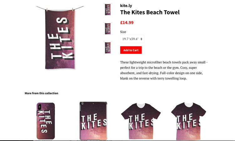 Merch towels