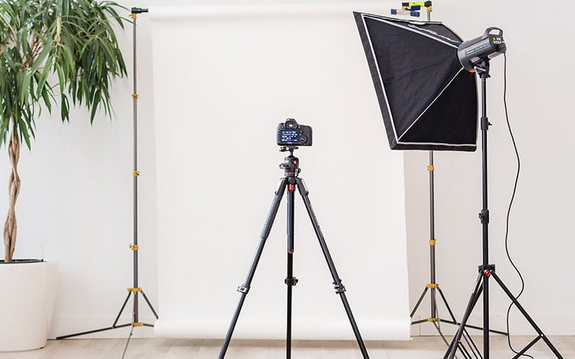 Building a product photography set-up to sell more merch