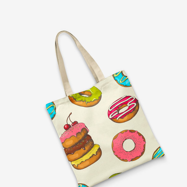 Print on demand tote bag