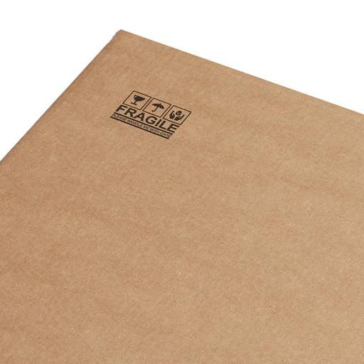 Cardboard box corner