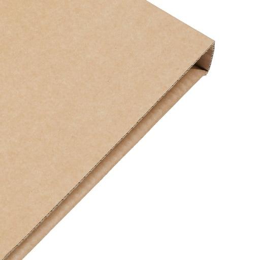 Cardboard box wallet style fold
