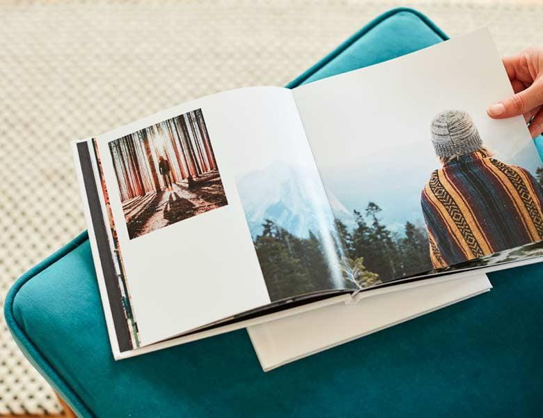 Premium finish photo books